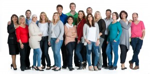 ADLER Gruppenfoto Mitarbeiter