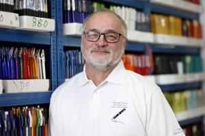 Andreas Hennig aus Suhl – Er ist Vorsitzende des Clubs der Kugelschreibersammler.