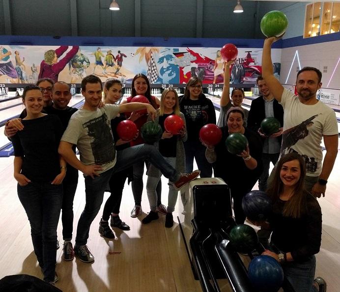 Bowling Gruppenbild